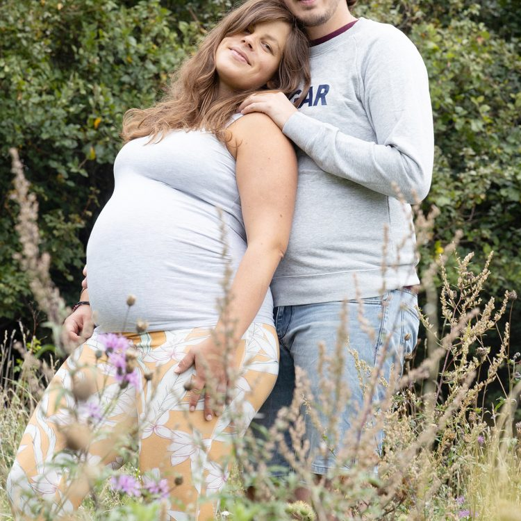 paarfoto schwanger