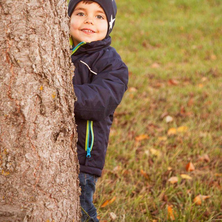 Kind in der Natur